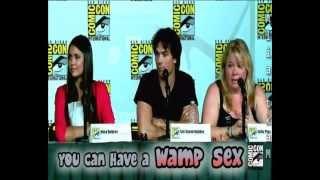 ☺ The Best of Comic-Con 2012 || Vampire Diaries ☺