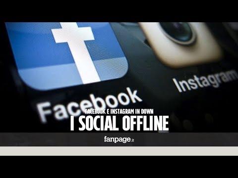 Facebook down, il social network non funziona. Problemi anche per Instagram