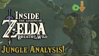Inside Zelda Breath of the Wild - Jungle Gameplay Secrets!