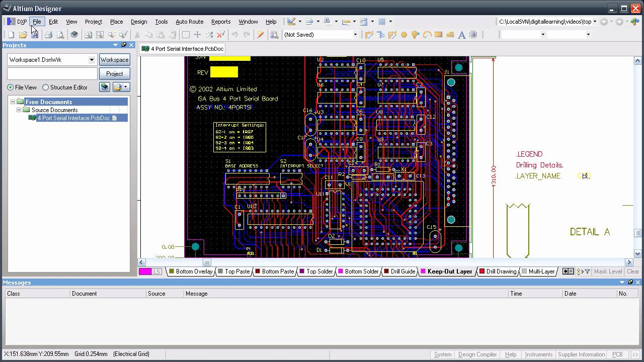 Milling a PCB from within Altium Designer - YouTube