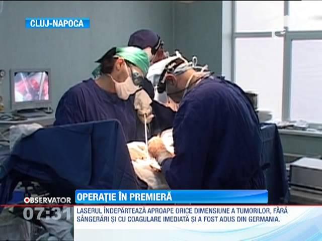 Premieră medicală în Cluj Napoca