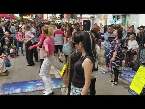 旺角wifi band171111-fans熱舞 樂隊熱情