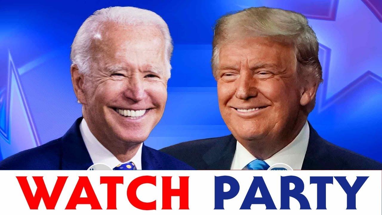 Trump vs Biden:  2020 Presidential Debate WATCH PARTY