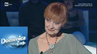 """Milena Vukotic: """"I miei anni accanto a Paolo Villaggio"""" - Domenica In 28/04/2019"""