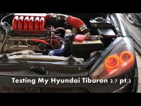 Test Speed For My Hyundai Tiburon 2.7 Pt.3