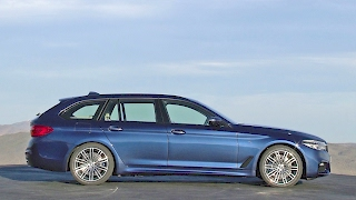 BMW 5 Series Touring M Sport (2017) Interior Exterior Driving [YOUCAR]