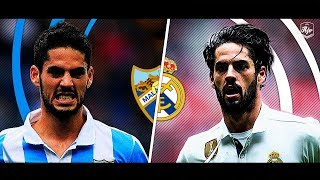 Isco in Malaga vs Isco in Real Madrid | HD