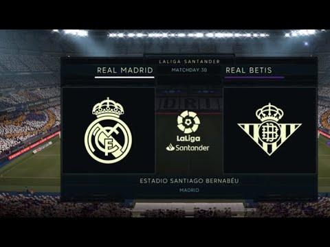 FIFA 21 – REAL MADRID VS REAL BETIS/ LA LIGA HIGHLIGHTS