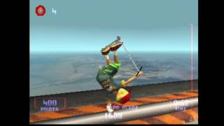 PS1 classic games ep1 Razor Freestyle scooter