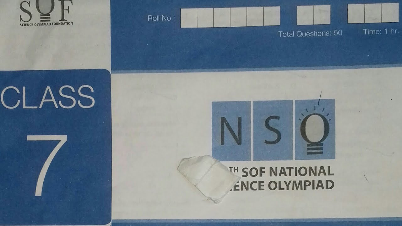 Class 7 2018-19-NSO( National Science Olympiad) by SOF Question Paper