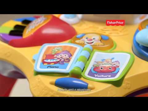 fisher price table puppy bilingue puppy