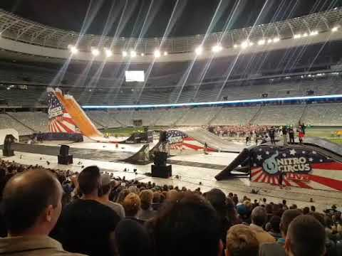 Nitro Circus! Bruce landed back flip on first go in South Africa Cape Town!!!