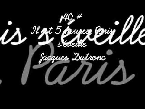 The 100 greatest french songs, les 100 plus belles chansons françaises