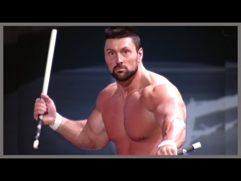 Steve Blackman ring entrance