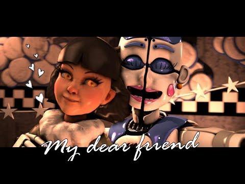 [FNAF/SFM] My Dear Friend Ballora & Olivia Halloween Dance  (FNAF 6 /FNAF Sister Location Animation)