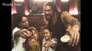 Aquaman Jason Mamoas Kids   2018  Daughter Lola Iolani Momoa  Son Nakoa Wolf Momoa