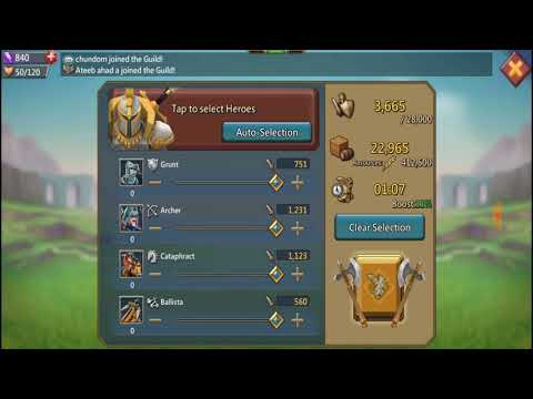 Resource Gathering - Lords Mobile