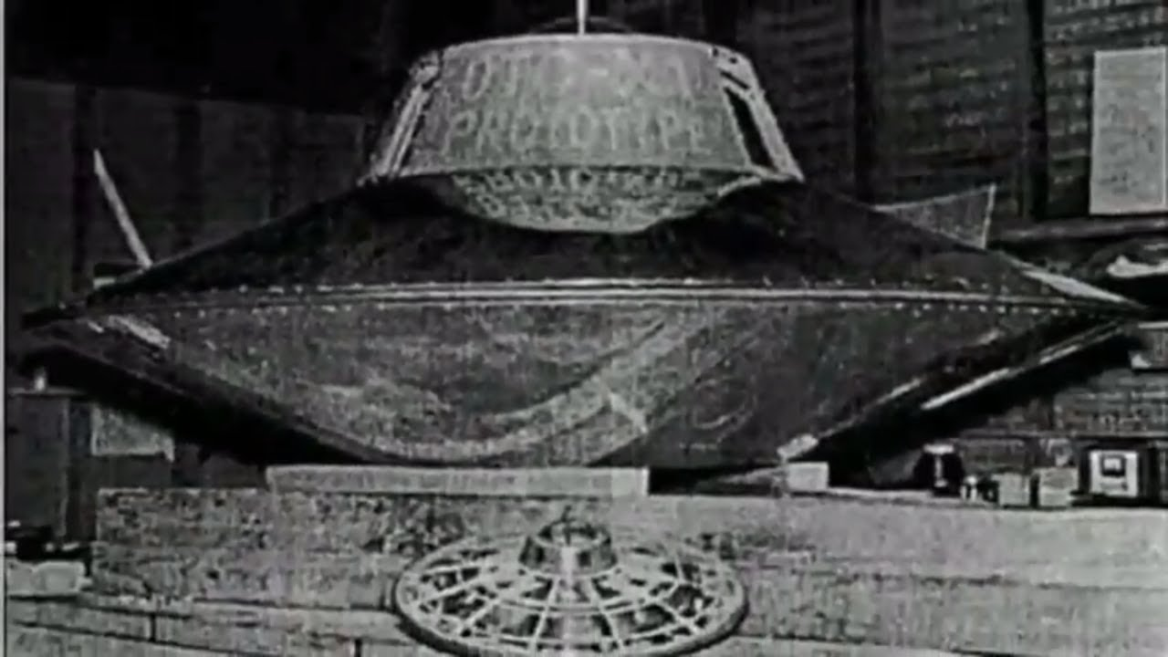 The world's first flying saucer (UFO) - Nikola Tesla