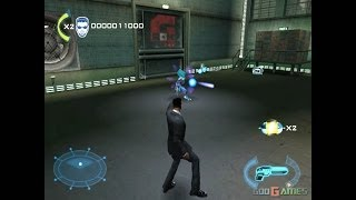 Men in Black II: Alien Escape - Gameplay Gamecube HD 720P (Dolphin GC/Wii Emulator)
