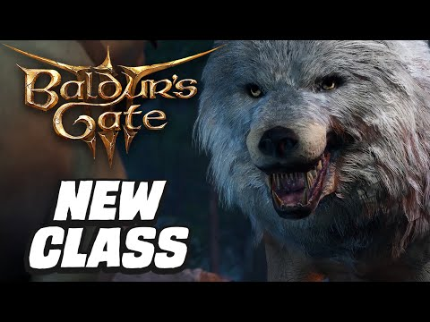 Baldur's Gate 3 - New Druid Gameplay