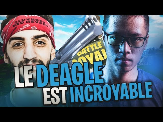 LE DEAGLE EST INCROYABLE - DUO VS SQUAD AVEC ADZ - 34 KILLS