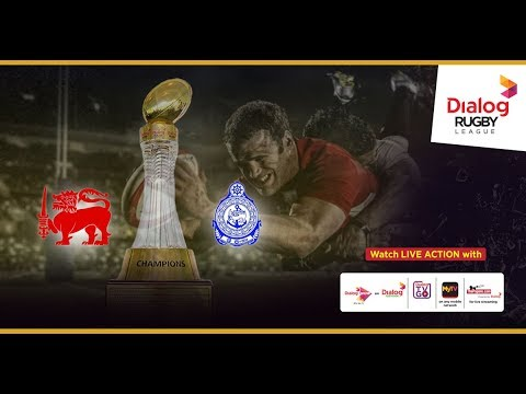Kandy SC vs Navy SC – Dialog Rugby League 2017/18 Match #21 (TMO)