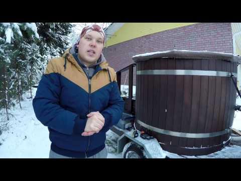 Финская  забава. Топим купель.