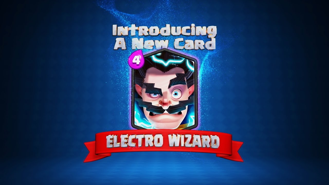 clash royale welcome to the arena electro wizard new
