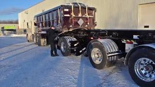 "Chagnon ""DOUBLER"" roll-off trailer"