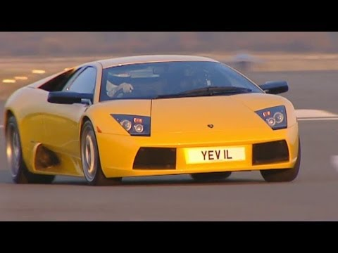 Lamborghini Murcielago Tears Up The Track (HQ) - Top Gear - Series 3 - BBC