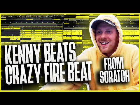 KENNY BEATS - MAKING a INSANE FIRE BEAT from *SCRATCH* (best beat on stream ?!?) 😤 - LIVE (6/8/21)