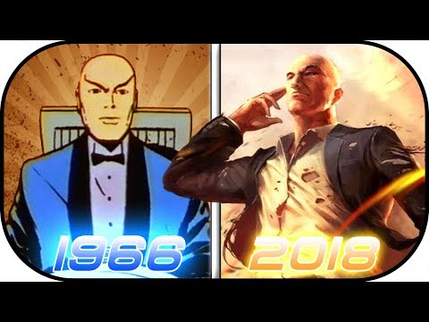 EVOLUTION of PROFESSOR X in cartoons, animated movies/series (1966-2018) xmen charles xavier history