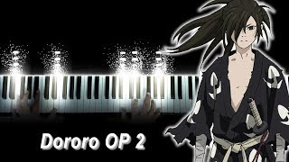 """[Dororo OP 2] """"Dororo"""" - ASIAN KUNG-FU GENERATION (Piano)"""
