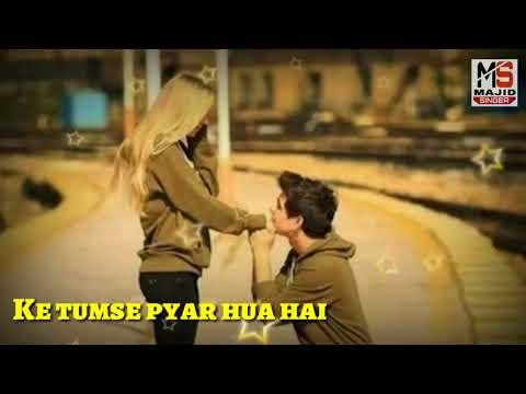👨🎤 Aaj Kehna Jaruri Hai 🎻 || New Whatsapp Status 2018 || old movie song thumbnail