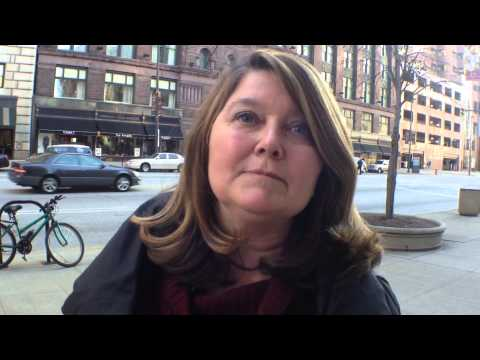 VIDEO: Connie Schultz Speaks Out On The Streets of Cleveland