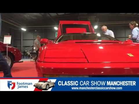 The Footman James Classic Car Show Manchester