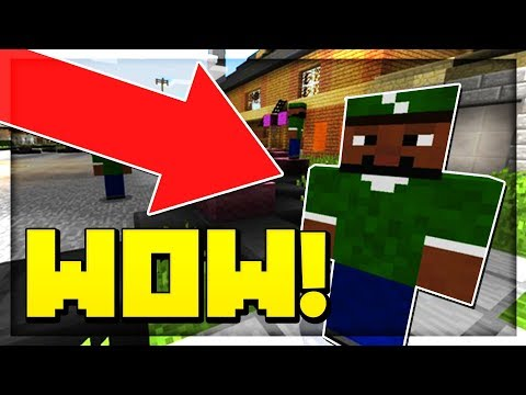 GTA SERVER IN MCPE! 😱 - Minecraft PE (Pocket Edition)