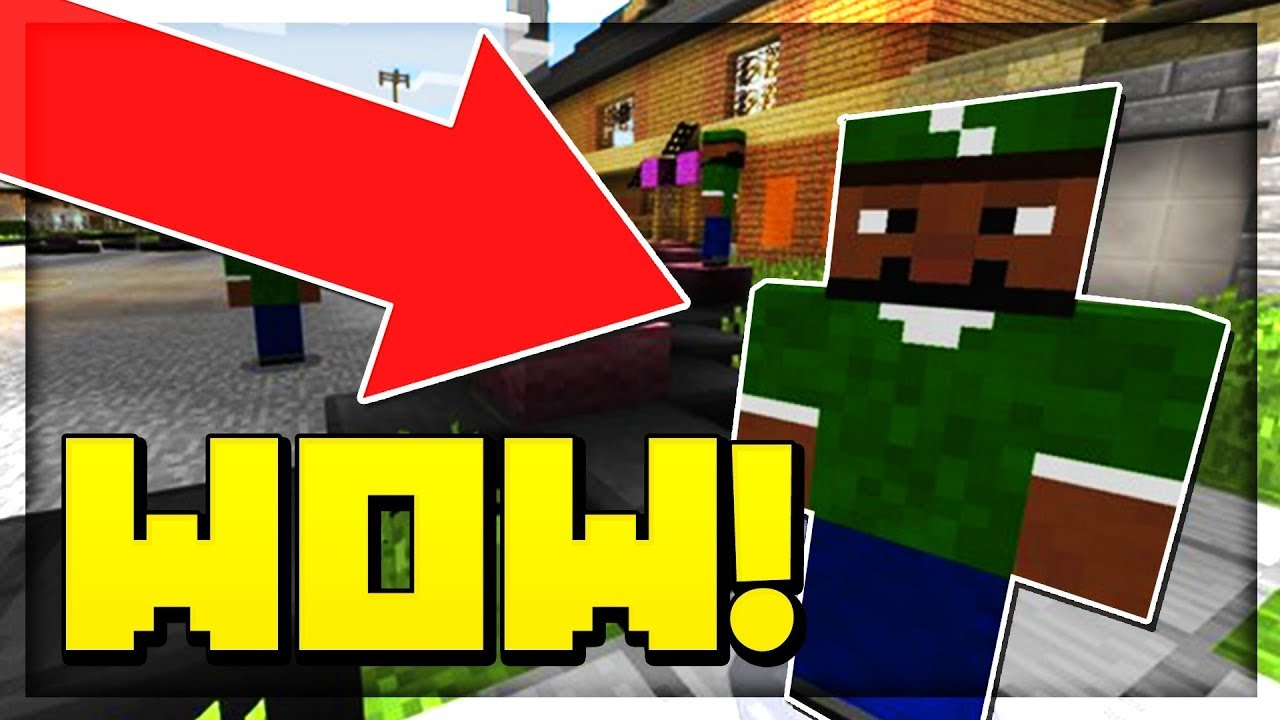 GTA SERVER IN MCPE 😱 Minecraft PE (Pocket Edition) YouTube