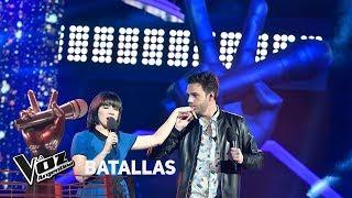 "Agustín vs Celeste - ""Fly me to the moon"" - Frank Sinatra - Batallas - La Voz Argentina 2018"