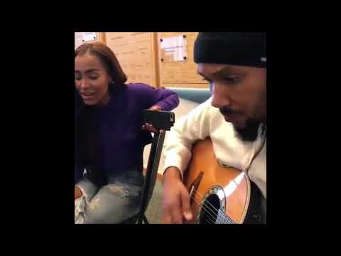 AMINA BUDDAFLY Sings For LYFE JENNINGS -- Could There Be A Collab A BUDDAFLY SINGS LYFE