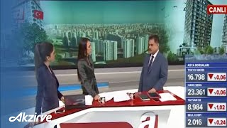 Akzirve Gayrimenkul CEO'su Sn. İbrahim Maasfeh A Haber Kanalında