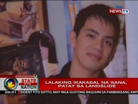 SONA: Lalaking ikakasal na sana, patay sa landslide sa Itogon, Benguet