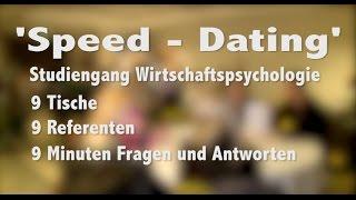 RFH Köln Wirtschaftspsycholgie Veranstaltung 'Speed - Dating'