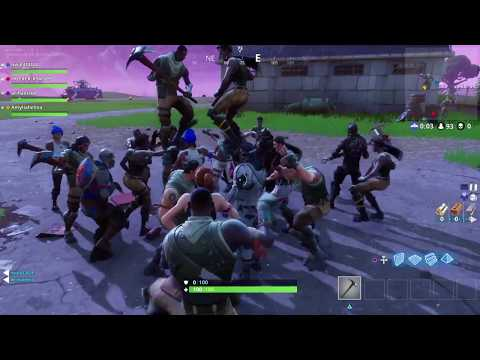 The craziest dance party in Fortnite pre-Lobby. Fortnite funny clips #1