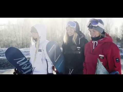 DOPE SNOW - Hemavan with the GIRLS