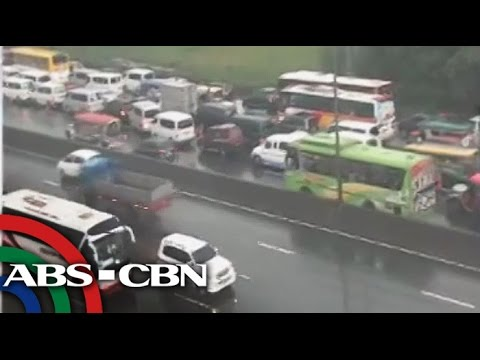 NLEX traffic builds up toward INC's PH Arena
