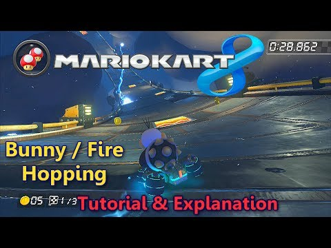 Mario Kart 8 Fire Hopping Tutorial & Explanation