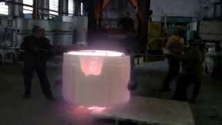 Отлив оптического стекла