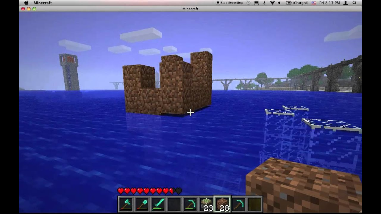 MASSIVELY OUTDATED Minecraft Underwater Airlock.mov - YouTube