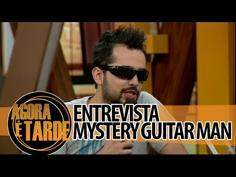 Entrevistado de hoje: Joe Penna - The Mystery Guitar Man